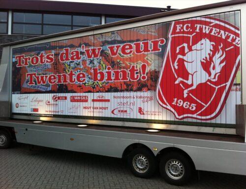 Mobiele reclame FC Twente