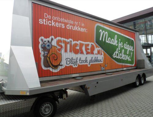 Mobiele reclame Sticker.nl