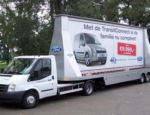 Mobiele reclame Ford Nederland